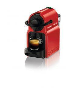 Nespresso - Inissia C40 Ruby Red Coffee Machine, C40-ME-RE-NE