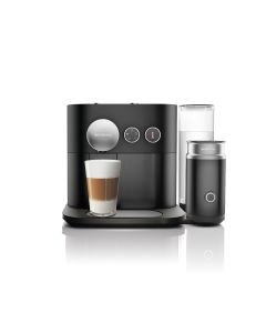 Nespresso - Expert C85 black Coffee Machine & Aeroccino Milk Frother, C85-ME-BK-NE