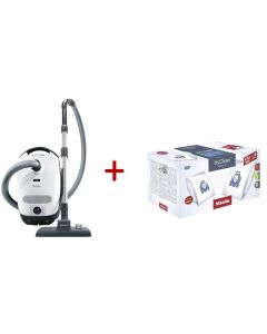 Miele - Classic C1 Allergy PowerLine Bagged Vacuum Cleaner, 10660660