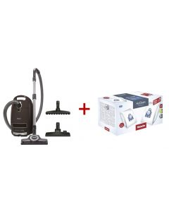 Miele - Complete C3 Total Solution PowerLine Bagged Vacuum Cleaner, 11085200