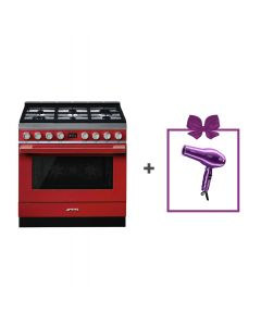 Smeg - Combination Cooker, 90 cm, CPF9GMR