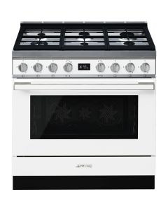 Smeg - Combination Cooker, 90 cm, CPF9GMWH