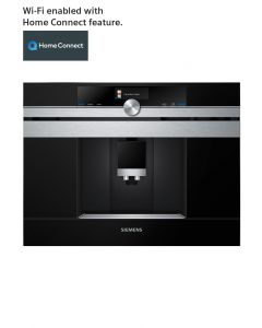 Siemens - Home Connect Built In Fully Automatic Coffee Machine, CT636LES6