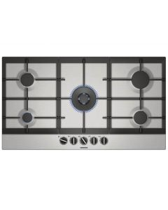 Siemens Built In Hob Gas, 90cm, Stainles Steel, Step Flame - EC9A5RB90M