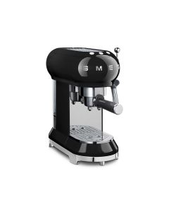 SMEG Coffee Machine Espresso Black - ECF01BLUK