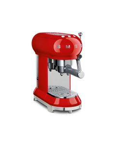 SMEG Coffee Machine Espresso Red - ECF01RDUK