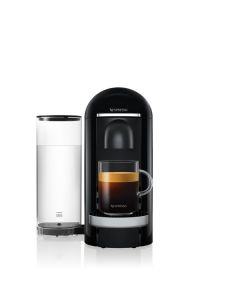 Nespresso - Vertuo Plus Coffee Machine, Black Deluxe, GCB2-GB-BK-NE1