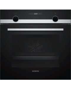 Siemens Built In Oven 60 cm, 66 L, 8 Heating Modes, IQ500 - HB557JYS0M