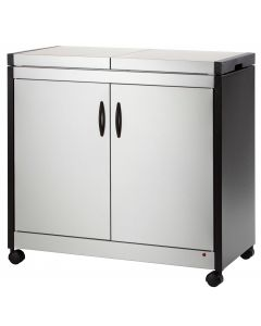 Hostess - Food Warmer Trolley, Brushed Stainless, HL6232BS