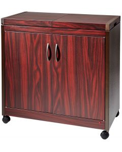 Hostess Kitchen Appliances Food Warmer Trolley Mahogany - HL6232DB
