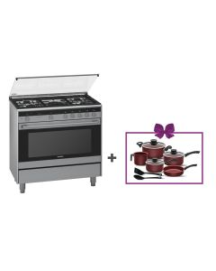 Siemens - Combination Cooker, 90 cm, HQ738357M