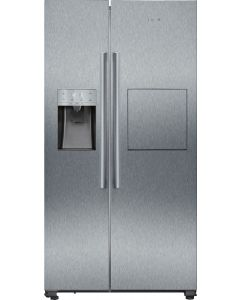 Siemens - American Side by Side Refrigerator with Ice & Water Dispenser, 598 L, KA93GAI30M