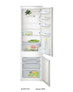 Siemens Built In Fridge Bottom Freezer, 276L, IQ100 - KI38VX22GB