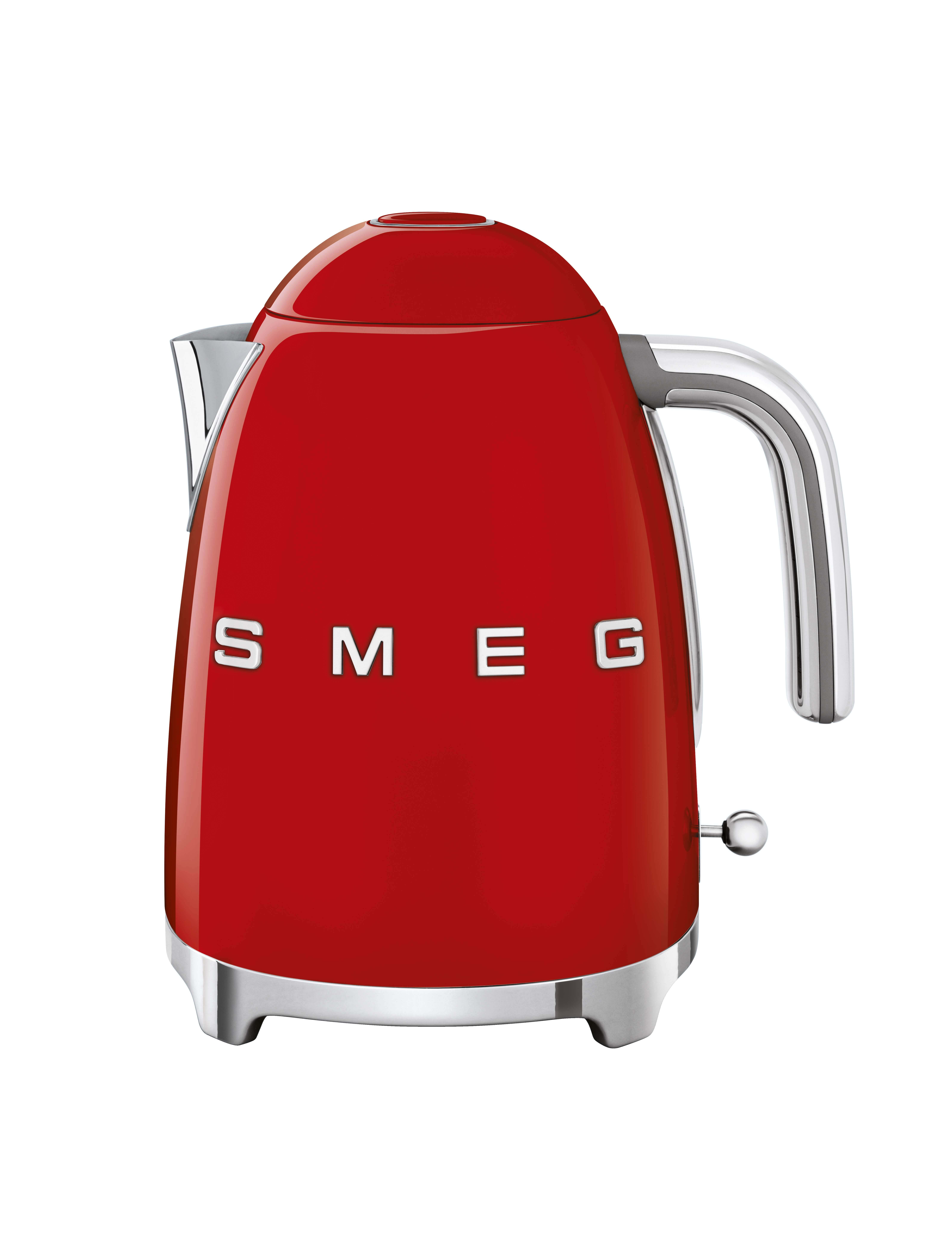 SMEG Kettle 1.7L Red - KLF03RDUK