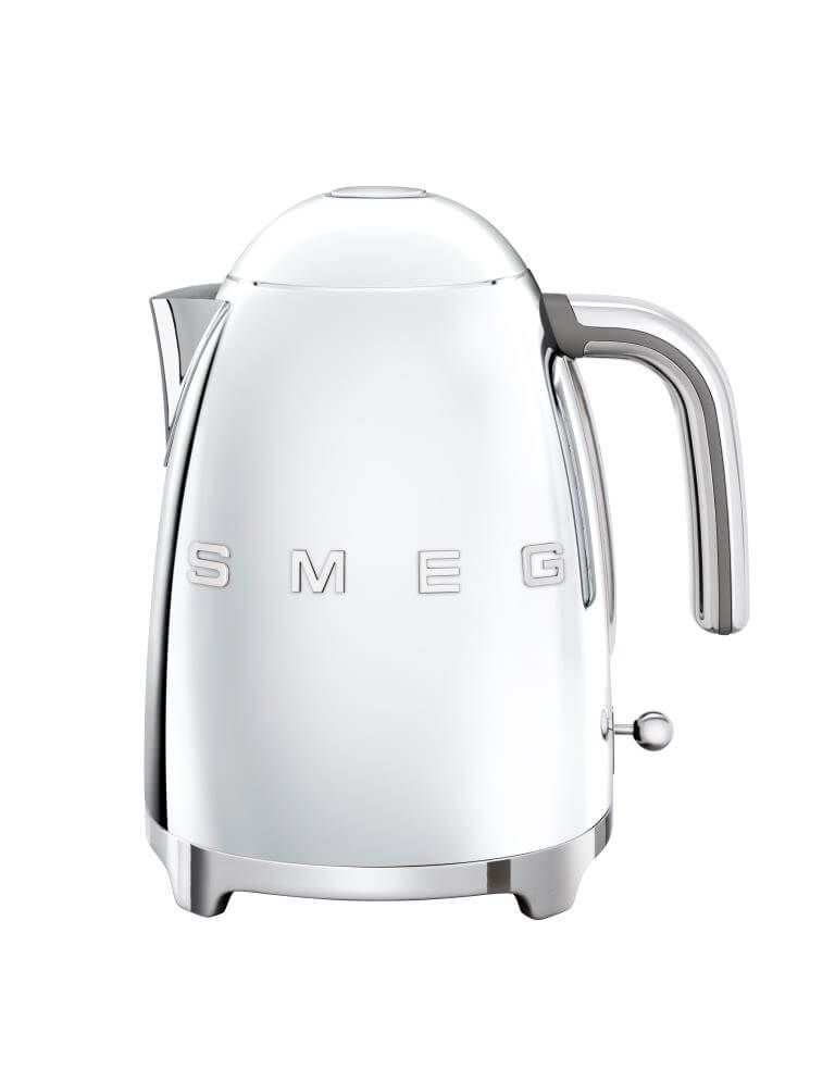 SMEG Kettle 1.7L Chrome - KLF03SSUK
