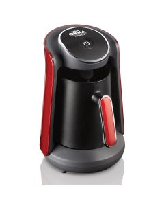 Arzum OKKA - Minio Turkish Coffee Maker, Black & Red, OK004-N