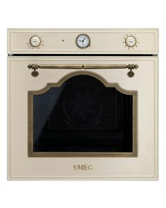 SMEG Oven 60cm Electric 79L Cream Old Brass - SF750PO