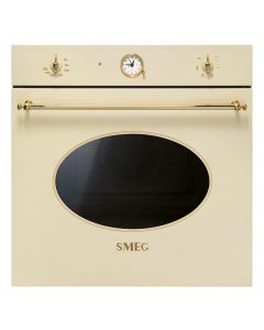 SMEG Oven 60cm Electric 79L Cream Gold Finishing - SF800P