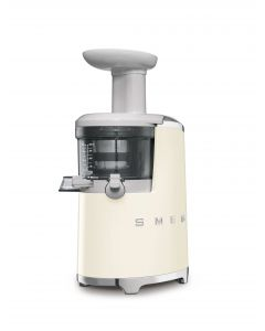 SMEG Slow Juicer 500ml 43RPM Cream - SJF01CRUK