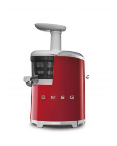 SMEG Slow Juicer 500ml 43RPM Red - SJF01RDUK