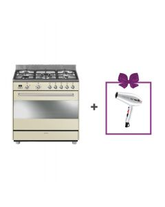 Smeg - Combination Cooker, 90 cm, SSA91MAP9