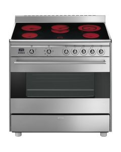 Smeg - Electric Cooker, 90 cm, SX91VLCSA9