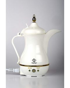 Arzum OKKA - Traveler Dalla Electrical Arabic Coffee Maker, White, JLR-170E3