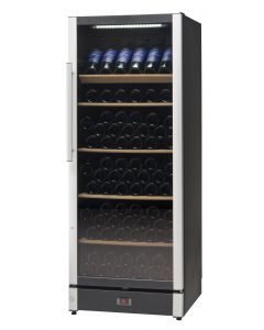 Vestfrost - Beverage Cooler, 147 Bottles, W155BLACK