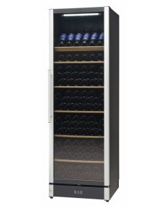 Vestfrost - Beverage Cooler, 197 Bottles, W185BLACK