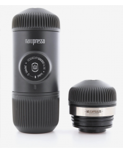 Wacaco - Nanopresso Portable Espresso Maker with Adaptor, WC-NANOP-NSADAP