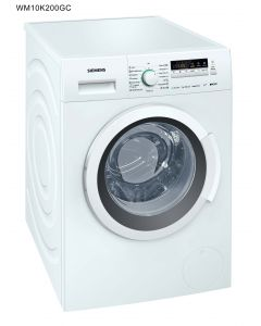 Siemens Washer 7 Kg, White - WM10K200GC