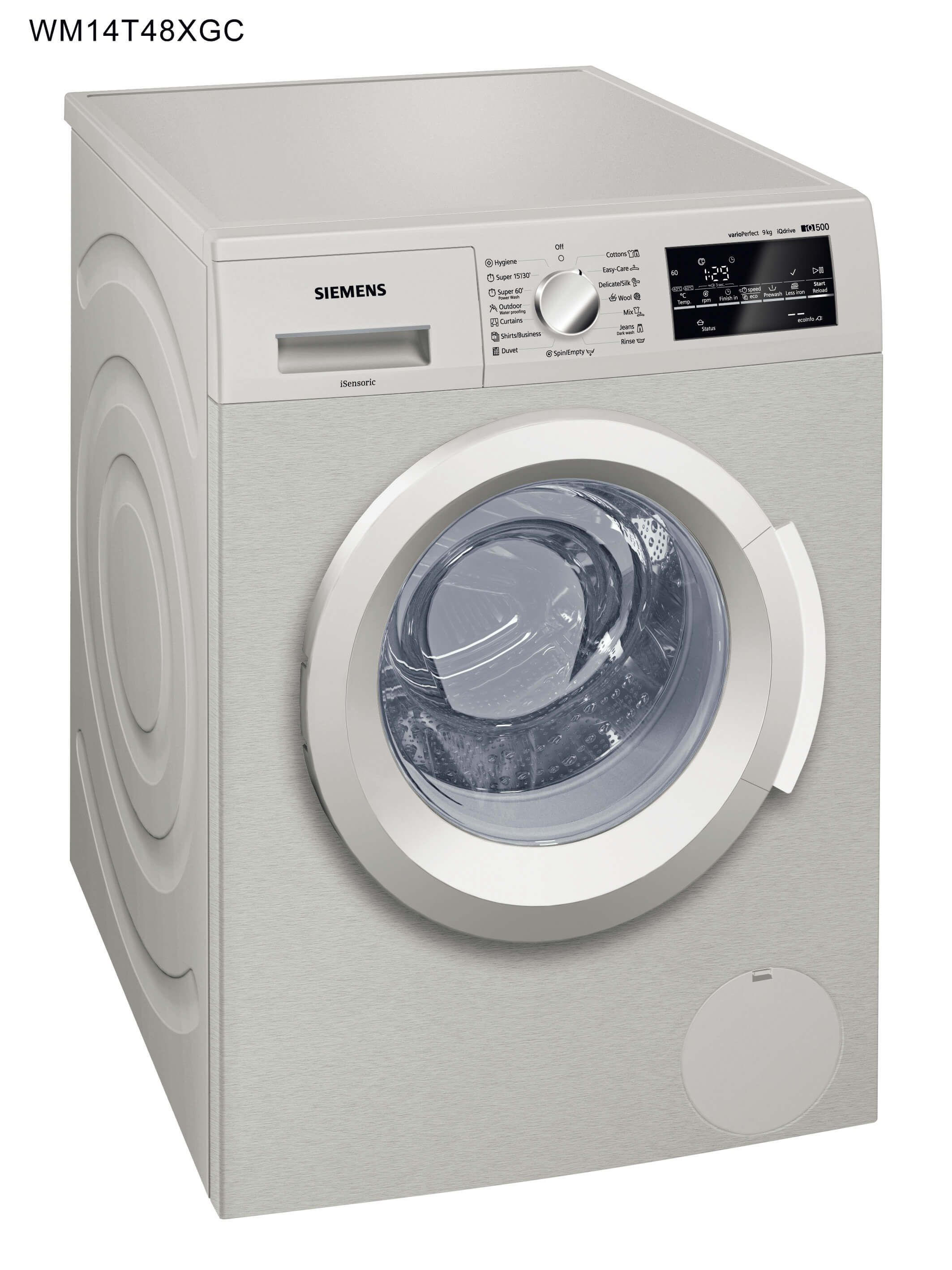 Siemens - 9 Kg Washing Machine, WM14T48XGC
