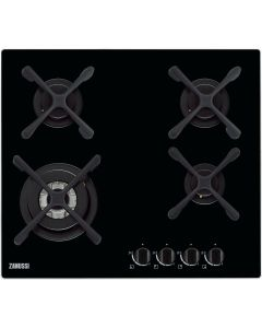 Zanussi Built In Hob Gas, 60 cm Gas on Glass - ZGO68434BA