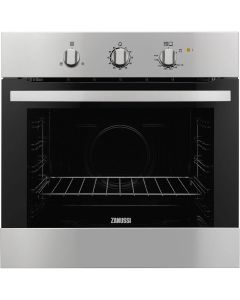 Zanussi Built In Oven 60 cm, Gas Oven w/Gas Grill - ZOG10311XK