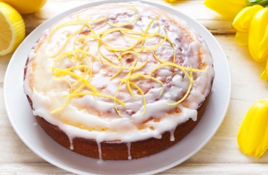 Extra Lemony Sponge Cake