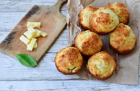 Parmigiano Reggiano Cheese Muffins