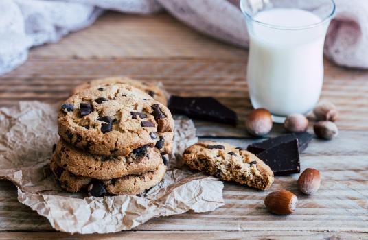 Chocolate & Hazelnut Cookies