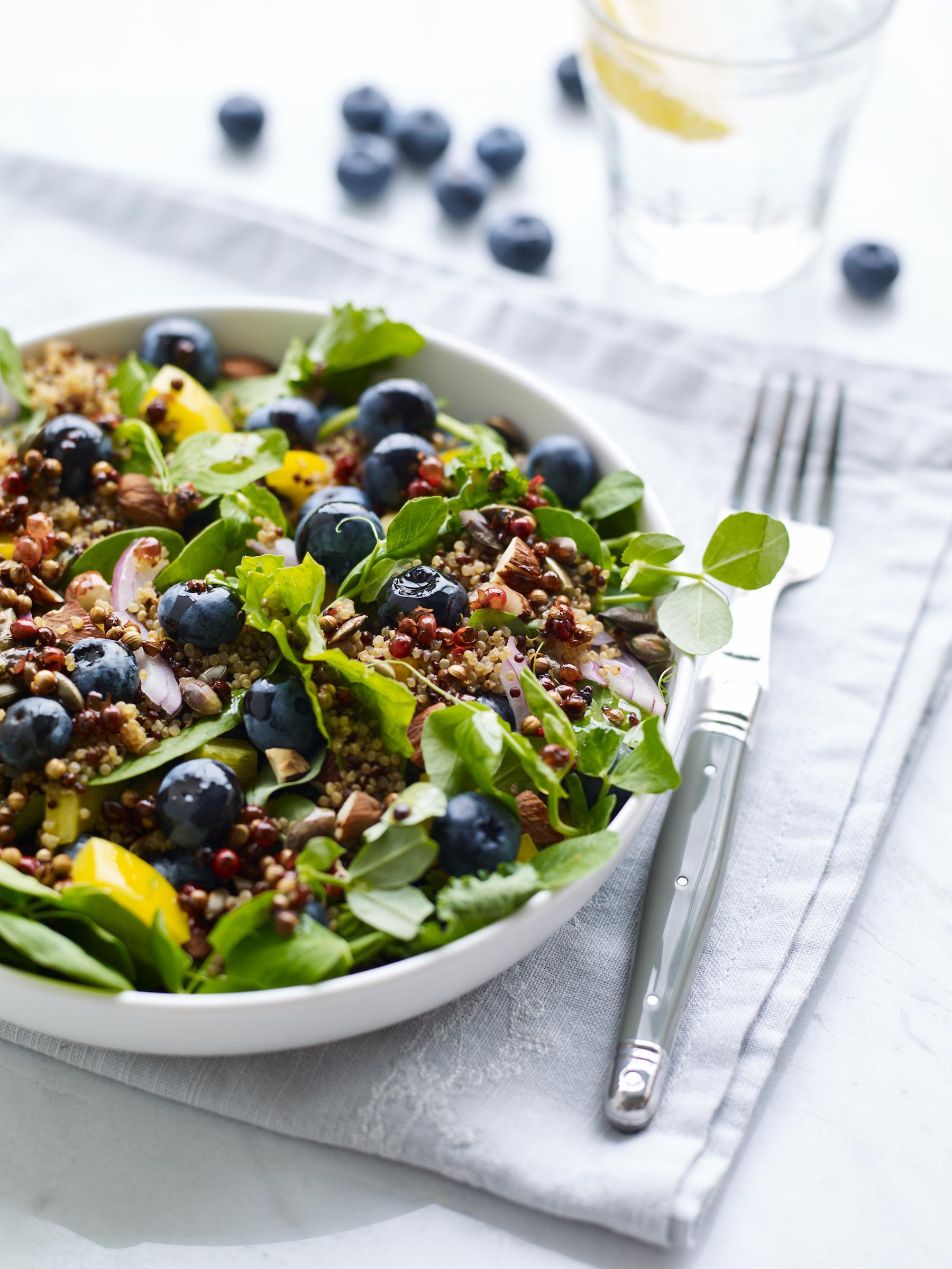 Berry World Blueberry and Quinoa Salad 75e5vdgn0