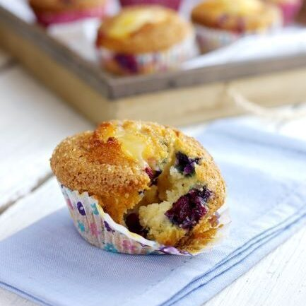 American Bluesy Muffin