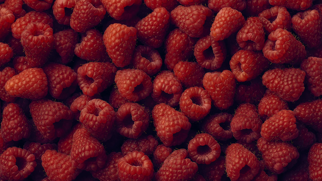 Pictures Of Red Raspberries