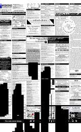 Daily Info printed sheet Sat 13/1 2001