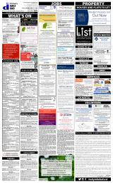 Daily Info printed sheet Tue 23/2 2016