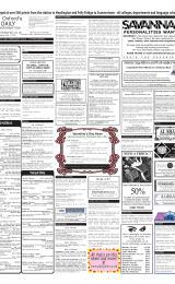 Daily Info printed sheet Sat 2/2 2002