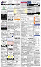 Daily Info printed sheet Fri 13/1 2006