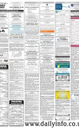 Daily Info printed sheet Thu 23/2 2006