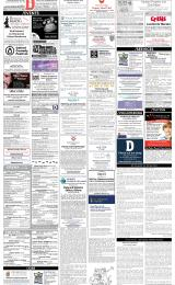Daily Info printed sheet Tue 25/6 2019