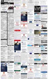 Daily Info printed sheet Fri 12/5 2017