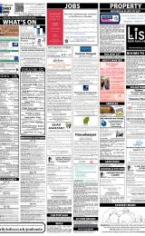Daily Info printed sheet Tue 11/2 2014