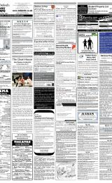 Daily Info printed sheet Thu 6/3 2008