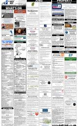 Daily Info printed sheet Tue 4/3 2014